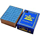 Club 21 147 Triangle Chalk for Snooker and Pool Cue (Blue)