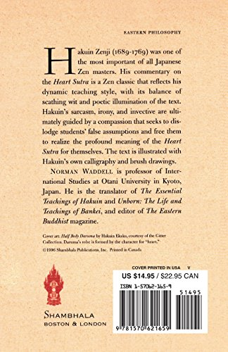 Zen Words for the Heart: Hakuin's Commentary on the Heart Sutra