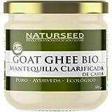 Naturseed Ghee Organico Capra - Burro chiarificato Ayurveda - senza lattosio - solo pascoli biologici - 250º (300gr…