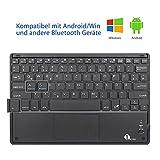 1byone Bluethooth Tastatur mit Touchpad - 3
