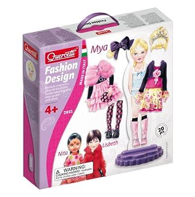 Quercetti 13/2931 Mya - Juego para vestir muñecas con muñeca, ropa y accesorios por Quercetti