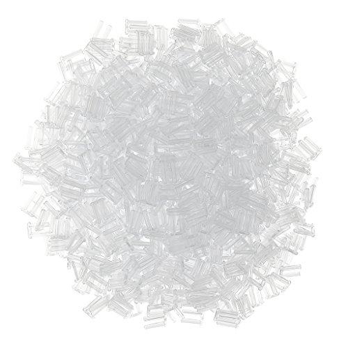 Sharplace Rimless Eyeglass Frames Stopper - Randlose Brillen Rahmen Stopfen (1000 Stücke Set) - 1,5mm