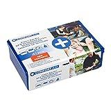 Kit 41 Pezzi Primo Soccorso Scatola Box Plastica Viaggio Comfort Aid Emergenza