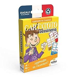 Cartatoto - Juego de Cartas educativas para Aprender a Dibujar, 10006520