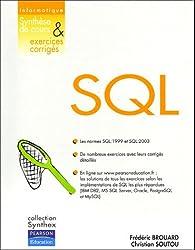 SQL : Synthèse de cours et exercices corrigés