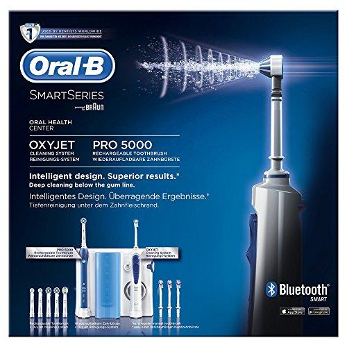 Oral-B PRO Center 5000 Elektrische Zahnbürste plus OxyJet-Mundusche - 8