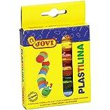 Jovi - Estuche de 6 barras de plastilina, 15 g, colores surtidos (90/6)