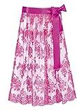 Stockerpoint Damen Dirndlschürze Schürze SC-230, Rosa (Pink), 3 (Herstellergröße: 3-46-50)
