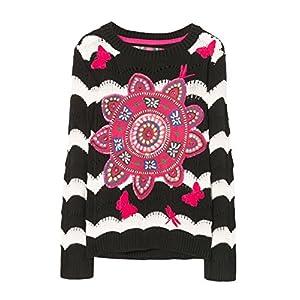 Desigual Jers_falubert suéter para Niñas