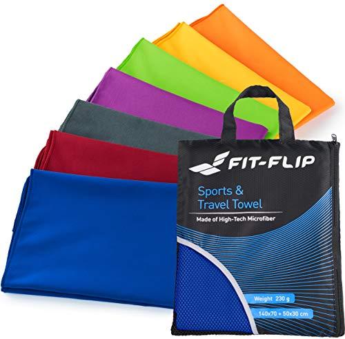 Produktbild Fit-Flip Set: 70x140cm + 30x50cm + Tasche/dunkel Blau