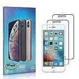 [2-Pack]NBKASE iPhone 6 / iPhone 6s Film Protection Ecran Verre Trempé [3D Couvir l'écran Complèt] [9H Dureté] [Anti Rayures] Film Protection écran pour Apple iPhone 6 / iPhone 6s