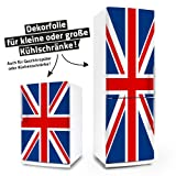 Kühlschrank- & Geschirrspüler-Folie --- Union Jack --- Dekorfolie Aufkleber Klebefolie Front