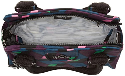 Kipling Damen Bex Mini Henkeltasche, 22x14x10 cm Mehrfarbig (Bold Mirage)