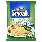 Smash Cheese and Onion Instant Mash Potato, 107 g