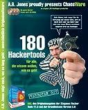 Produkt-Bild: 180 Hacker Tools, CD-ROM Für alle, die wissen wollen, wie es geht. Für Windows 98, ME, XP. Inkl. der Originalausg. der Steganos Hacker Tools V1.5 und 5.0