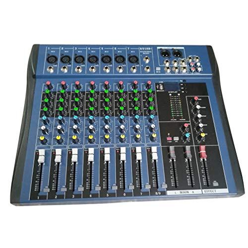 CT8 8 Canales Mezclador estéreo Profesional Live