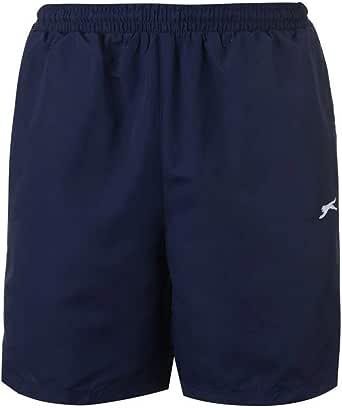 Slazenger Mens 2 Pockets Mesh Briefs Woven Shorts Pants Bottoms