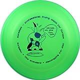 Eurodisc 110g Anerkannte Discdogging Scheibe für Hunde Frisbee, NEONGRÜN