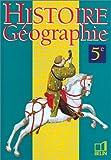 Histoire - Géographie 5e (livre de l'élève)