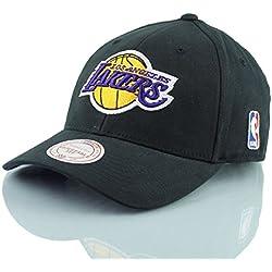 Mitchell & Ness–Gorra Flexfit 110L.A. Lakers Low Pro Black