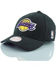 Mitchell & Ness Snapback Casquette Flexfit 110L.A. Lakers Low Pro Black