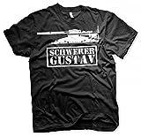 Schwerer Gustav Geschütz - Tshirt Größe XL