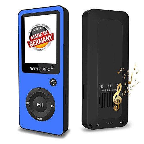 Bertronic BERmp4_bc02_16gb_blau MP3-Player, BC-Series Schwarz