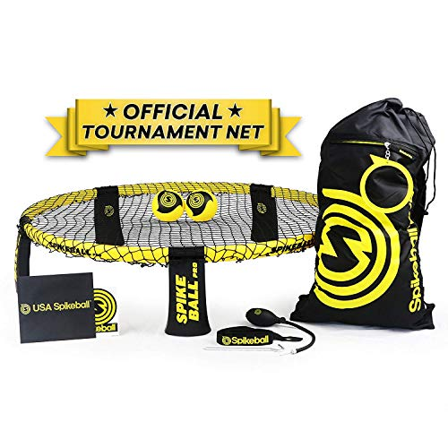 Spikeball Pro Kit include aggiornato stronger giocare net palline nuovo progettato per aggiungere spin Portable Ball pompa manometro zaino As Seen on