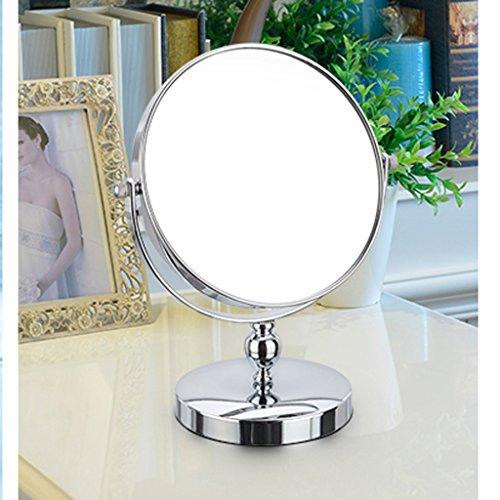 Lente d'ingrandimento Carino 3x Double-sided trucco Desktop Mirror stile europeo