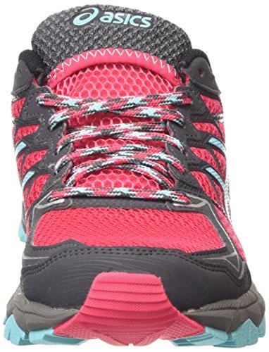 Asics Gel-fujitrabuco 4, Chaussures de Running Compétition femme Rose (azalea/turquoise/black 2140)