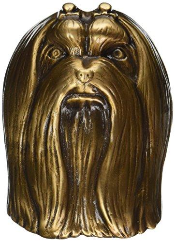 Malteser Hund Türklopfer-Bronze
