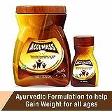 Accumass Ayurvedic Weight Gain Granules 500gm + 60 Cap Combo Pack