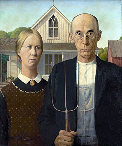 - Counted Cross Stitch Patterns: American Gothic by Grant Wood, (Great Artists Series) (English Edition)