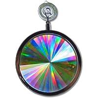 Wild rainbow–axicon ventana Sun Catcher