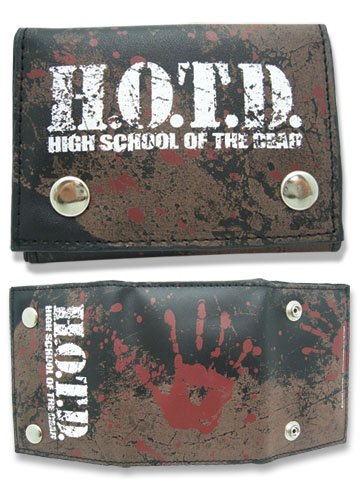 High School Of The Dead H.O.T.D. portefeuille
