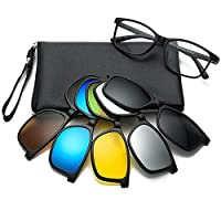 نظارة بولارايز مع 5 عدسات قابله للتعديل