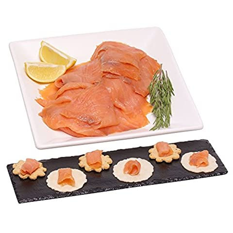 500g Sliced Smoked Scottish Salmon - A Great Gift for