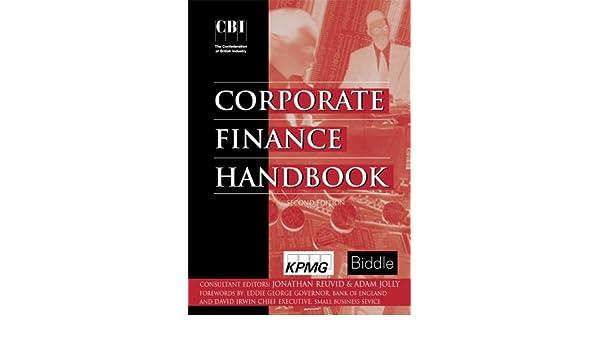 Buy CBI CORPORATE FINANCE HANDBOOK 2/RD Book Online at Low