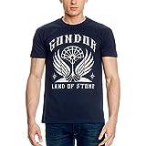 Herr der Ringe El Señor de los Anillos-Camiseta Gondor los Anillos de Bosque Azul Azul Medium