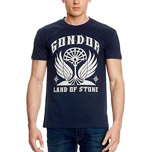 Herr der Ringe T-Shirt Gondor von Elbenwald blau - M