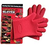 Lemish 1 Piece Heat Resistant Cooking BBQ Grill Oven Gloves, Best for Heat Protection & Cooking