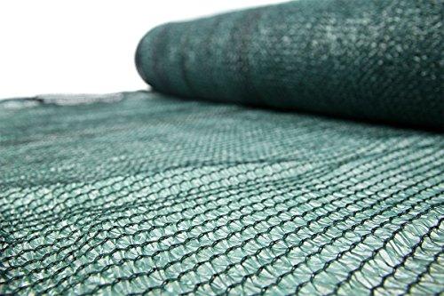 Schattiernetz 55% 60g/m2 Schattiergewebe Sonnenschutz Zaunblende 6 Größen (1x25m)