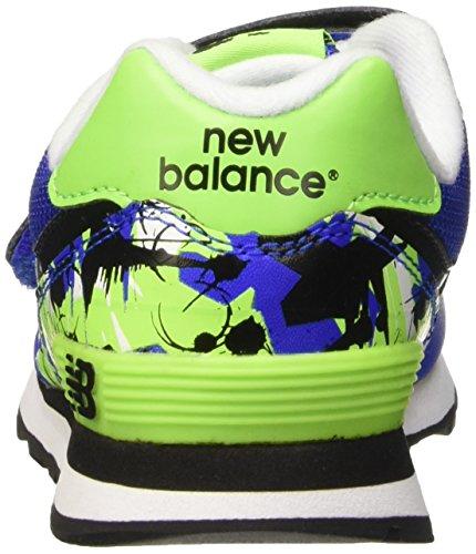 New Balance Nbkv574tnp, Scarpe Low-Top Unisex – Bambini Blu (Blue Green)