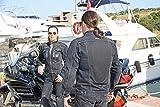 Motorradjacke Bikerjacke Jeansjacke MISTRAL aus leichtem Netzstoff und schwerem Denim inkl. Protektoren und Dupont Kevlar®-Einsätzen (M)
