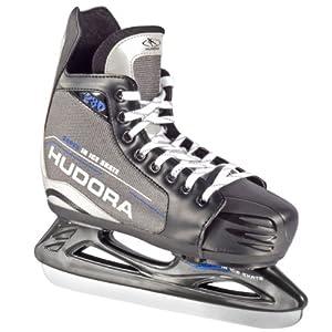 HUDORA Eishockey-Schuhe verstellbar – Schlittschuhe Eishockey