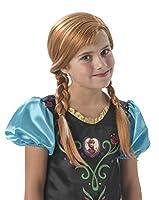 Rendi magico il tuo Carnevale vestendo i panni della principessa Anna e indossando la sua parrucca rossa con le trecce. La parruca, che si adatta facilmente alla testa delle bambine, è realizzata in una lucente tonalità ramata che riflette il...