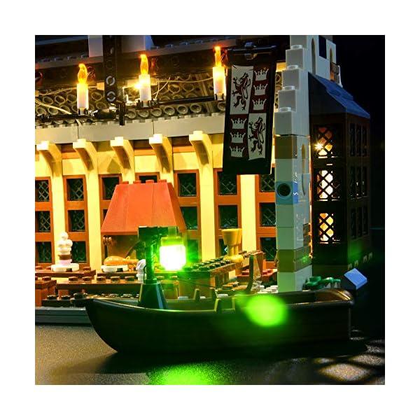 LIGHTAILING Set di Luci per (Harry Potter La Sala Grande di Hogwarts) Modello da Costruire - Kit Luce LED Compatibile… 3 spesavip