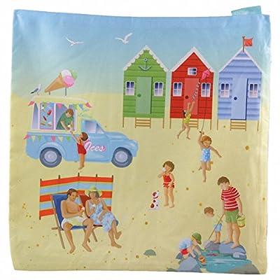 Fun Seaside Design New Beach Hut Cushion Cover