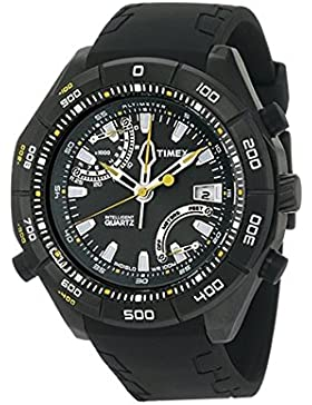 Timex Herren-Armbanduhr XL Timex Epedition E-Altimeter Analog Kautschuk T2N729
