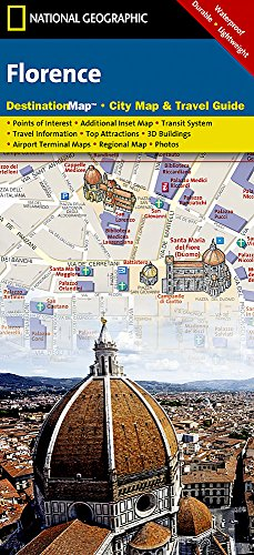 Florence (National Geographic Destination Map)